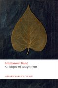 Cover for Critique of Judgement