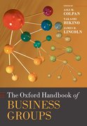 Cover for The Oxford Handbook of Business Groups