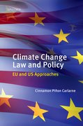 Cover for Climate Change Law and Policy
