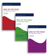 Cover for Best of Five MCQs for MRCPsych Papers 1, 2 and 3 Pack
