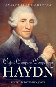 Cover for Oxford Composer Companions: Haydn