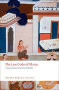 Cover for The Law Code of Manu