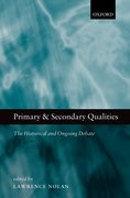 Cover for Primary and Secondary Qualities