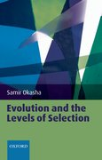 Cover for Evolution and the Levels of Selection