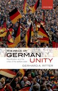 Cover for The Price of German Unity