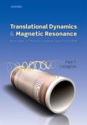 Cover for Translational Dynamics and Magnetic Resonance