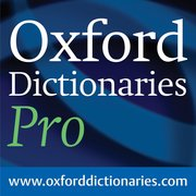 Cover for Oxford Dictionaries Pro