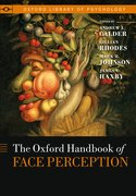 Cover for Oxford Handbook of Face Perception