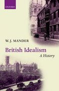Cover for British Idealism: A History