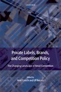 Cover for Private Labels, Brands and Competition Policy