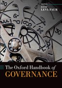 Cover for The Oxford Handbook of Governance