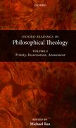 Cover for Oxford Readings in Philosophical Theology