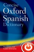 Cover for Concise Oxford Spanish Dictionary