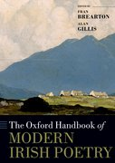 Cover for The Oxford Handbook of Modern Irish Poetry