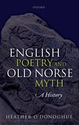 Cover for English Poetry and Old Norse Myth