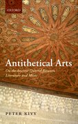 Cover for Antithetical Arts