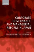 Cover for Corporate Governance and Managerial Reform in Japan