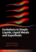 Cover for Excitations in Simple Liquids, Liquid Metals and Superfluids