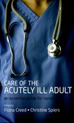 Cover for Care of the Acutely Ill Adult