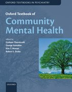 Cover for Oxford Textbook of Community Mental Health
