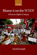 Cover for Blame it on the WTO?