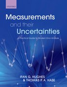 Cover for Measurements and their Uncertainties