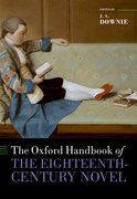 Cover for The Oxford Handbook of the Eighteenth-Century Novel - 9780199566747