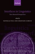 Cover for Interfaces in Linguistics