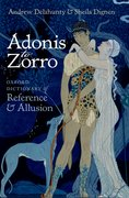 Cover for Adonis to Zorro