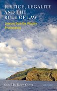 Cover for Justice, Legality and the Rule of Law