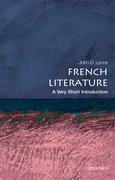 Cover for French Literature: A Very Short Introduction