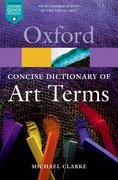 Cover for The Concise Oxford Dictionary of Art Terms
