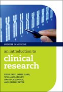 Cover for An Introduction to Clinical Research