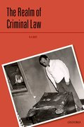 Cover for The Realm of Criminal Law