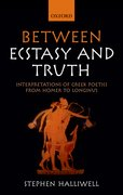 Cover for Between Ecstasy and Truth