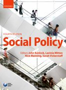 Cover for Social Policy
