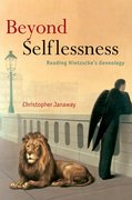 Cover for Beyond Selflessness