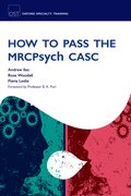 Cover for How to Pass the MRCPsych CASC