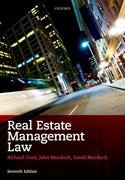 Cover for Real Estate Management Law