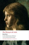 Cover for Justine, or the Misfortunes of Virtue