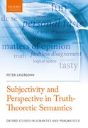 Cover for Subjectivity and Perspective in Truth-Theoretic Semantics