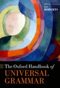 Cover for The Oxford Handbook of Universal Grammar