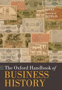 Cover for The Oxford Handbook of Business History