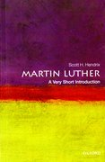 Cover for Martin Luther: A Very Short Introduction - 9780199574339