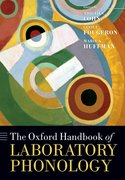 Cover for The Oxford Handbook of Laboratory Phonology