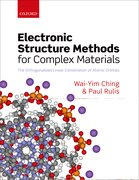 Cover for Electronic Structure Methods for Complex Materials