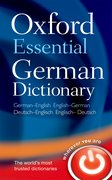 Cover for Oxford Essential German Dictionary