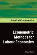 Cover for Econometric Methods for Labour Economics