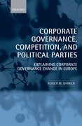 Cover for Corporate Governance, Competition, and Political Parties