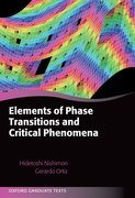 Cover for Elements of Phase Transitions and Critical Phenomena